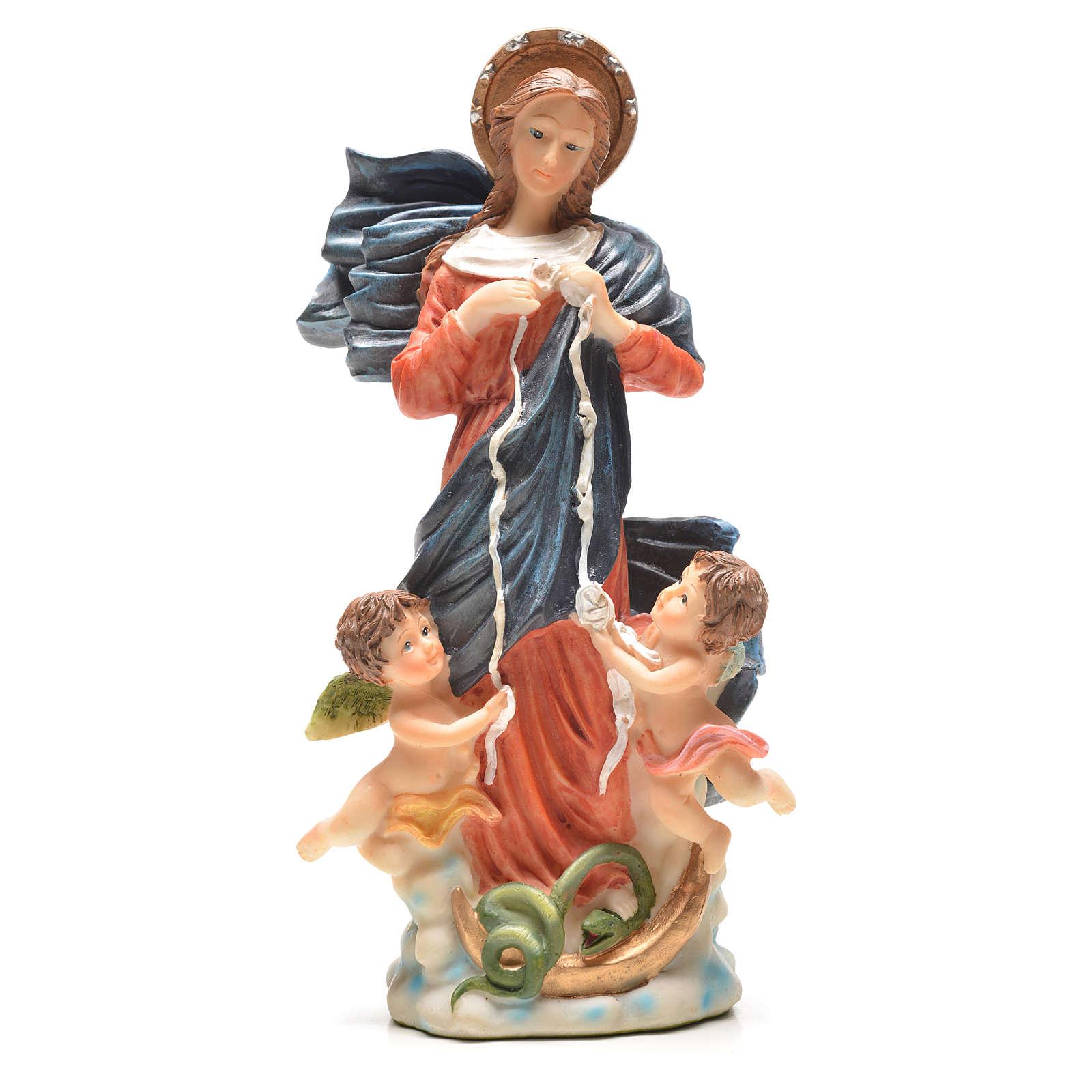 Notre Dame qui défait les noeuds 20cm 4