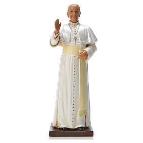 Imagens em Resina e PVC: Papa Francisco 18 cm pvc Fontanini