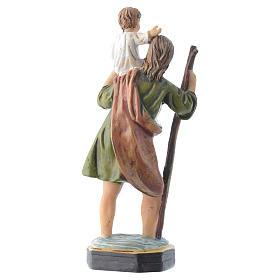 Saint Christopher 12cm Multilingual prayer s2