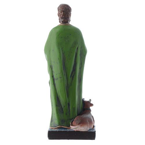 Saint Luc endormi 12 cm pvc PRIÈRE MULTILINGUE 2