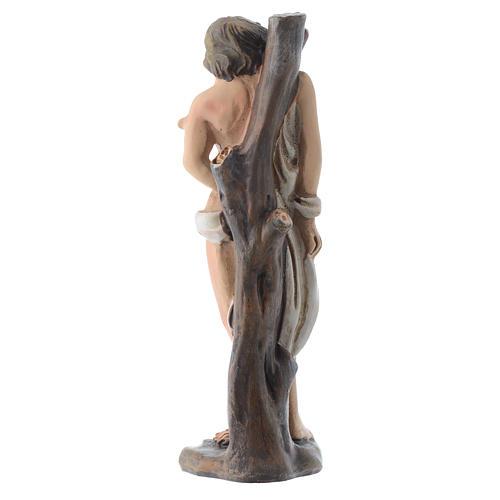 San Sebastiano 12 cm pvc confezione PREGHIERA MULTILINGUE 2