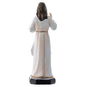 Gesù Misericordioso 12 cm pvc confezione PREGHIERA MULTILINGUE s2