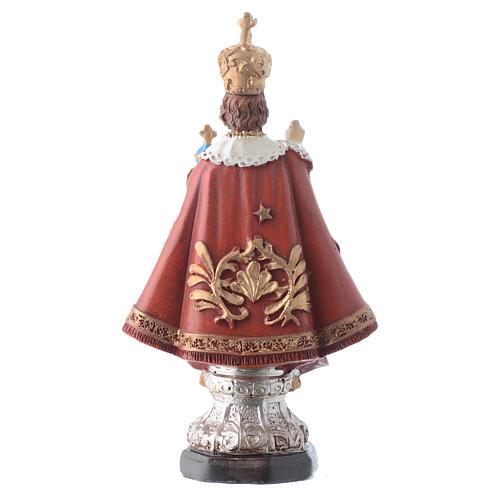 Gesù Bambino di Praga 12 cm pvc confezione PREGHIERA MULTILINGUE 2