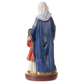 Sant'Anna 12 cm con immaginetta PREGHIERA MULTILINGUA s3