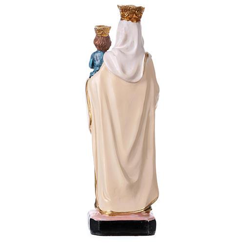 Notre-Dame du Mont-Carmel 12 cm avec image PRIÈRE MULTILINGUE 3