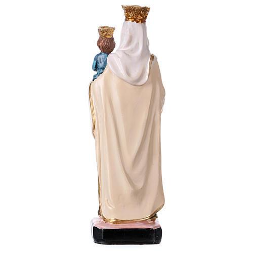 Nossa Senhora do Carmo 12 cm com imagem ORAÇÃO MULTILÍNGUE 3