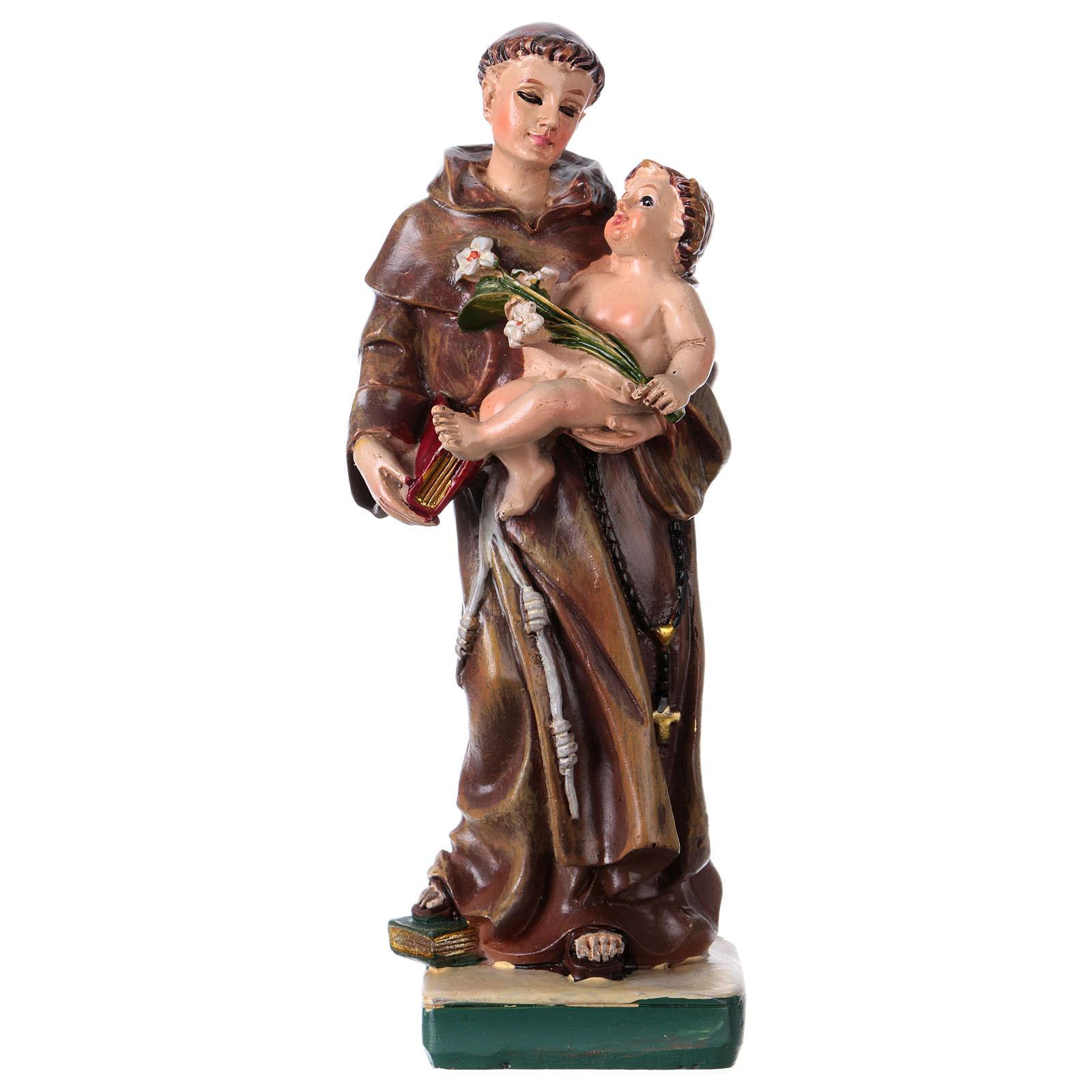 San Antonio de Padua 12 cm con imagen ORACIÓN PLURILINGÜE 4