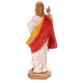 Estatua Sagrado Corazón de Jesús Fontanini 17 cm s2