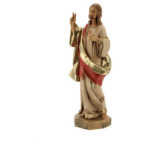 Statue Sacré-Coeur de Jésus Fontanini 17 cm 2