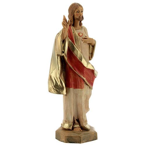 Statue Sacré-Coeur de Jésus Fontanini 17 cm 3