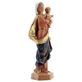 Sainte Vierge avec Enfant Jésus à bras Fontanini 17 cm s4