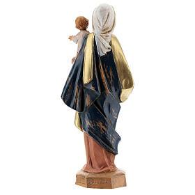 Sainte Vierge avec Enfant Jésus à bras Fontanini 17 cm s5