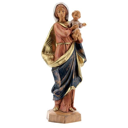 Sainte Vierge avec Enfant Jésus à bras Fontanini 17 cm 1