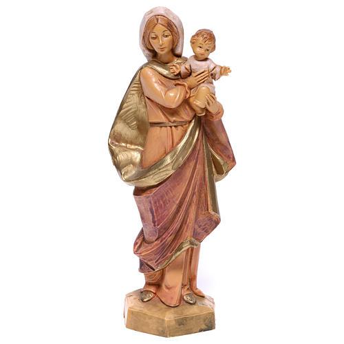 Madonna con Bambino in braccio Fontanini 17 cm 1