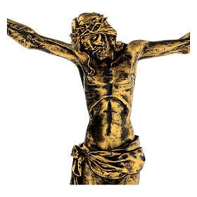 Cuerpo de Cristo color bronce Fontanini 45 cm s2