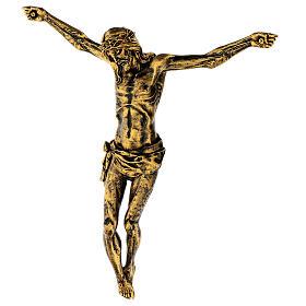 Cuerpo de Cristo color bronce Fontanini 45 cm s4