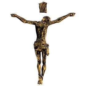 Cuerpo de Cristo color bronce Fontanini 45 cm s5