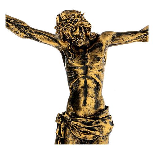 Cuerpo de Cristo color bronce Fontanini 45 cm 2
