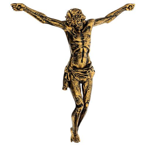 Cuerpo de Cristo color bronce Fontanini 45 cm 3