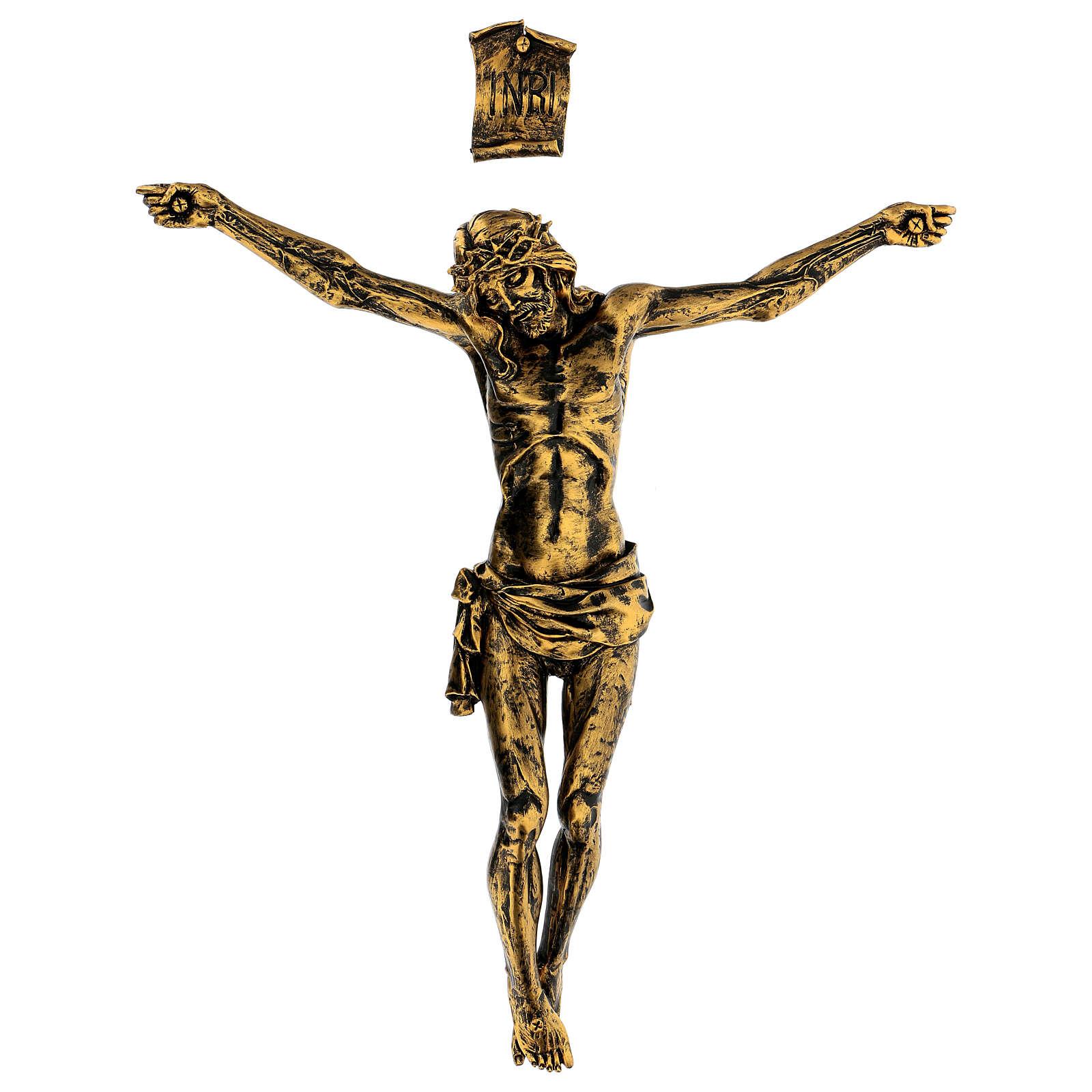 Corps de Christ couleur bronze Fontanini 45 cm 4