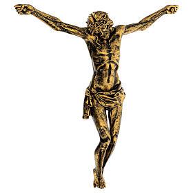 Corps de Christ couleur bronze Fontanini 45 cm s3