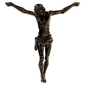 Corpo di Cristo color bronzo Fontanini 45 cm s2