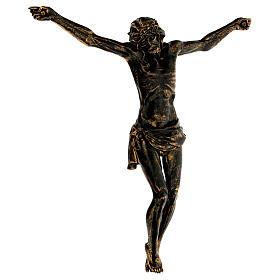 Corpo di Cristo color bronzo Fontanini 45 cm s4