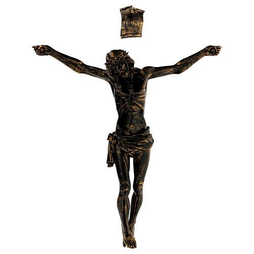 Corpo di Cristo color bronzo Fontanini 45 cm 1