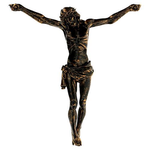 Corpo di Cristo color bronzo Fontanini 45 cm 2