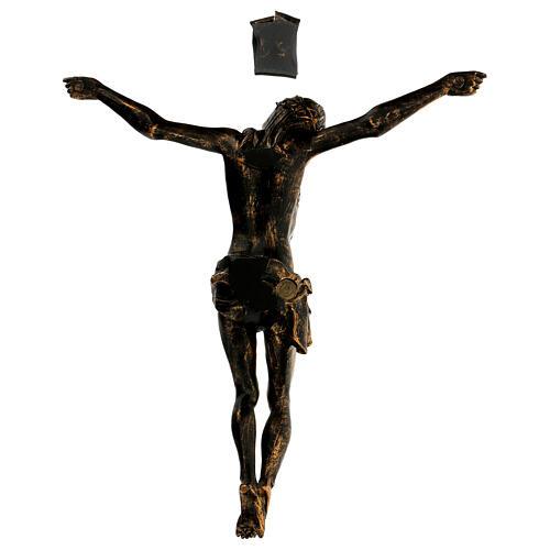 Corpo di Cristo color bronzo Fontanini 45 cm 5