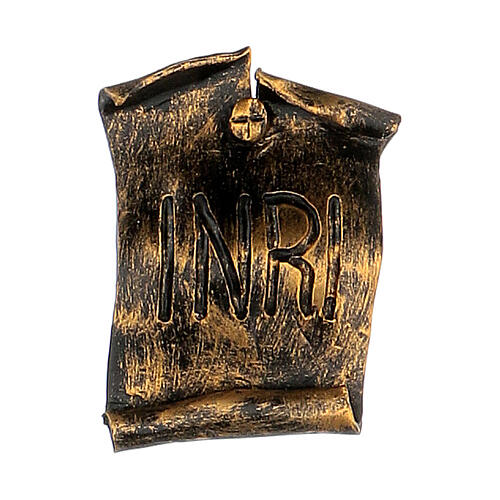 Corpo di Cristo color bronzo Fontanini 45 cm 6