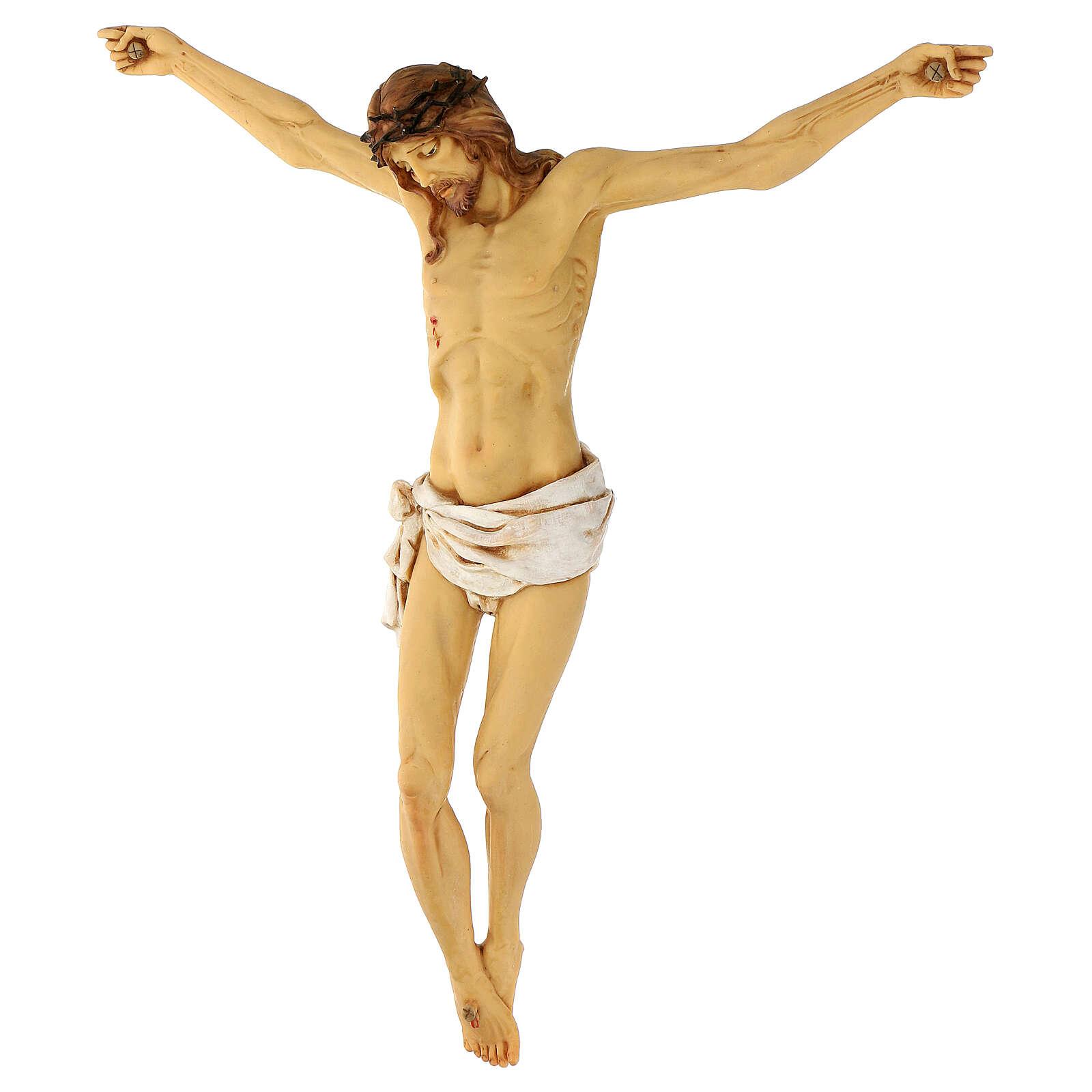 Cuerpo de Cristo de resina 45 cm Fontanini 4