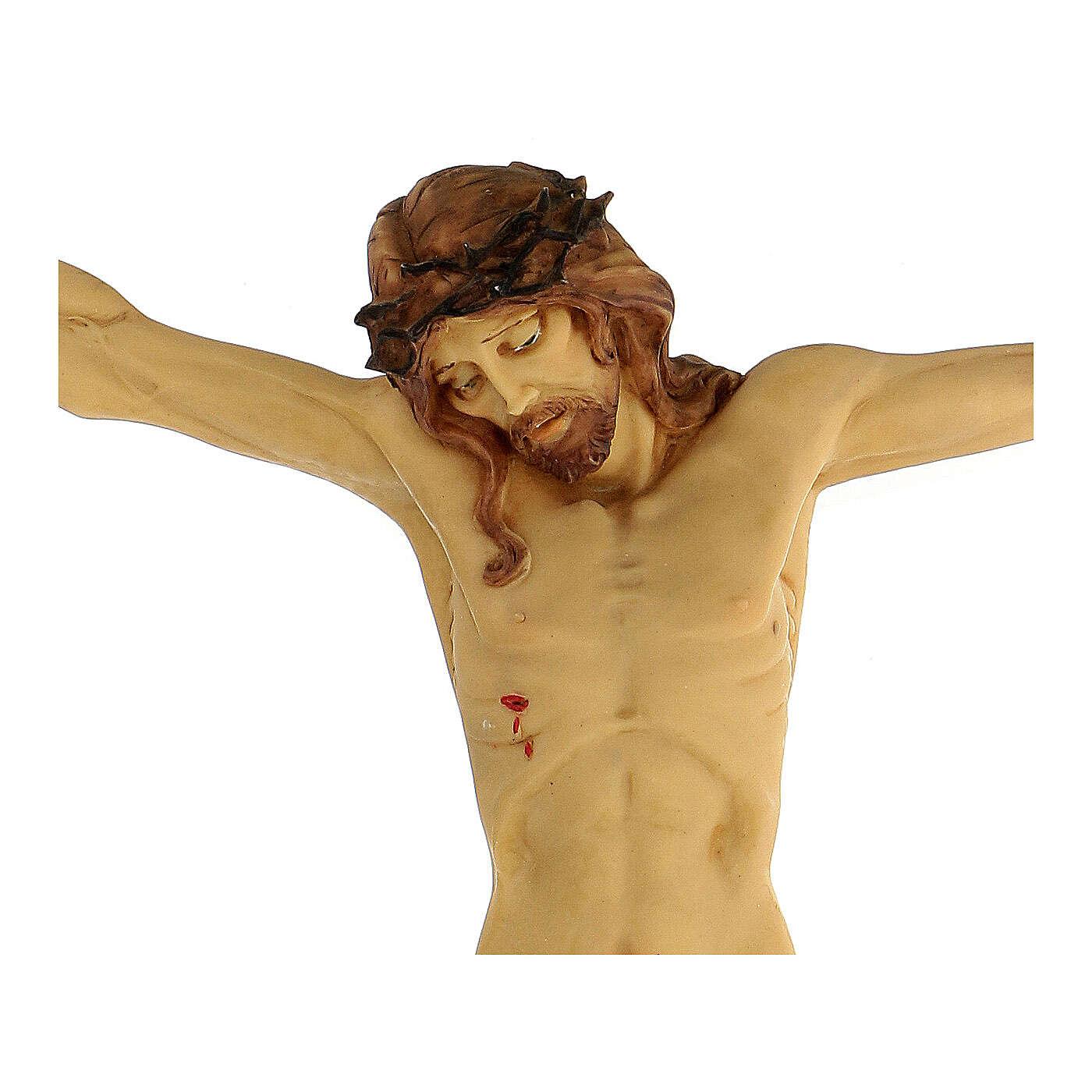Corps de Christ en résine 45 cm Fontanini 4