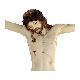 Corps de Christ en résine 45 cm Fontanini s9