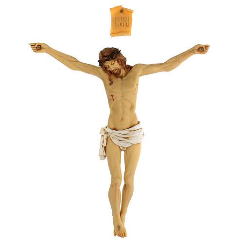 Corps de Christ en résine 45 cm Fontanini 1