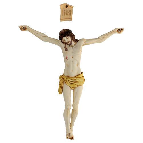 Corps de Christ en résine 45 cm Fontanini 8