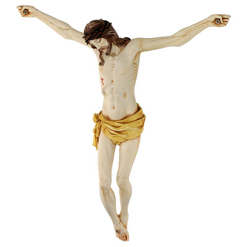 Corps de Christ en résine 45 cm Fontanini 10