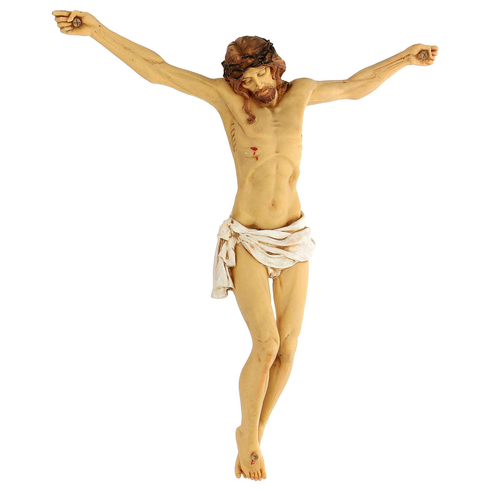 Corpo di Cristo in resina 45 cm Fontanini 4