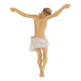 Cuerpo de Cristo pintado a mano Fontanini 16 cm s4
