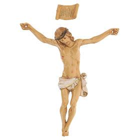 Corpo di Cristo dipinto a mano Fontanini 16 cm s1