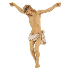 Corpo di Cristo dipinto a mano Fontanini 16 cm s2