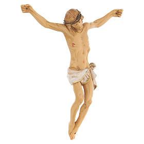 Corpo di Cristo dipinto a mano Fontanini 16 cm s3