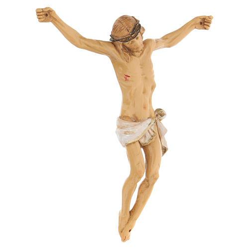 Corpo di Cristo dipinto a mano Fontanini 16 cm 3