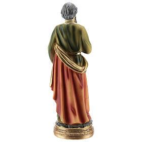 St Paul statue resin 20 cm s5