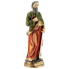 Statue of St. Paul in resin 30 cm s4