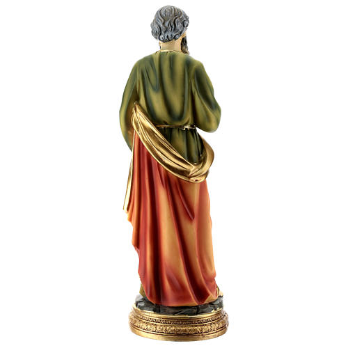 Statue of St. Paul in resin 30 cm 5