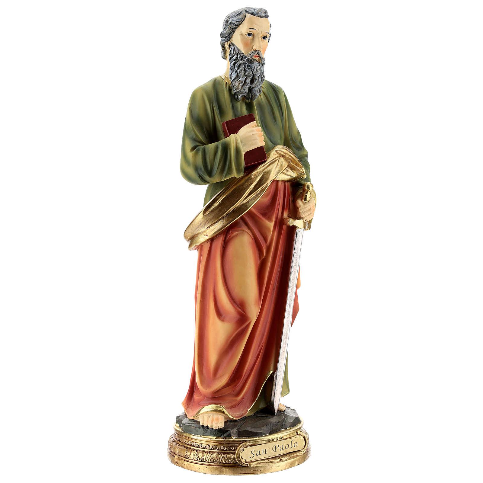San Pablo estatua resina de 30 cm 4