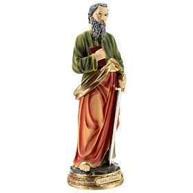 San Pablo estatua resina de 30 cm s4
