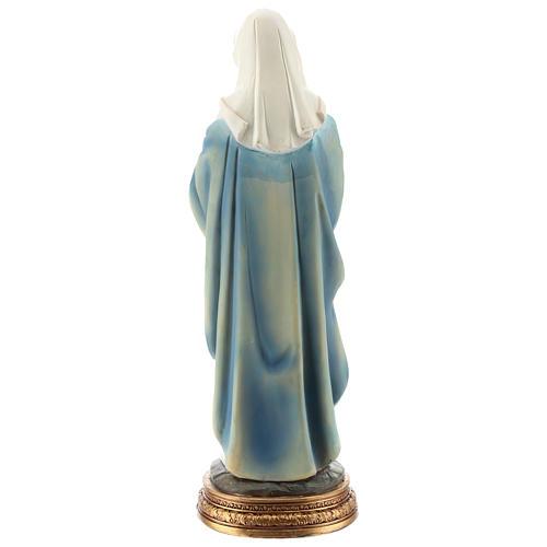 Statue de la Vierge enceinte résine 30 cm 5