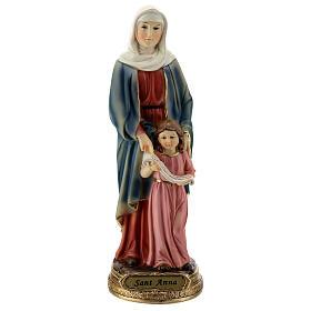 Estatua de Santa Ana y María resina 20 cm s1
